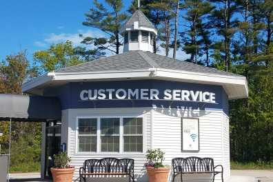 Customer Service Booth