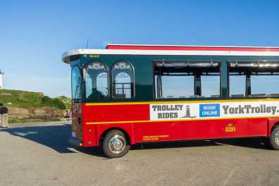 Trolley Tour at Nubble Lighthouse