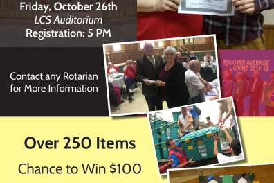 Annual Rotary Auction