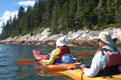 Maine Sea Kayaking