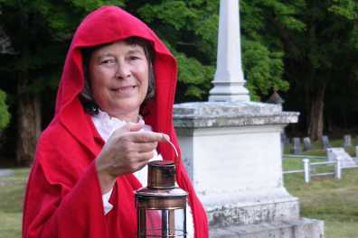 Sally Red Cloak Haunted History Tours