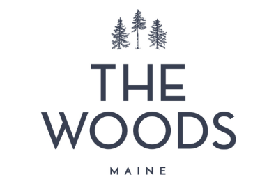 The Woods Maine Logo