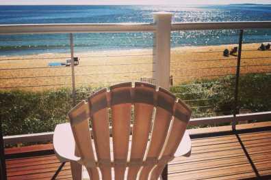 Alouette Beachfront Deck