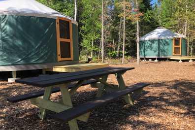 Bunk Yurts