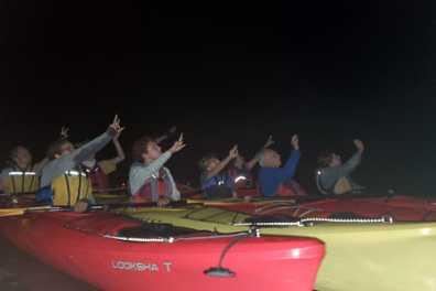 Bioluminescent Night Kayaking