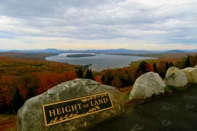 Height of Land in Fall