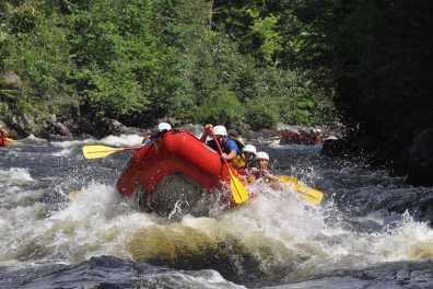 Kennebec River Rafting