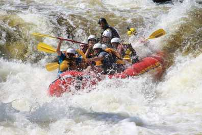 Penobscot Adventures Rafting