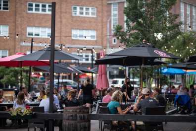 Al Fresco Dining In West Market Square