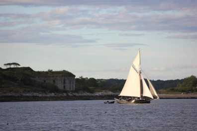 Windjammer on Casco Bay