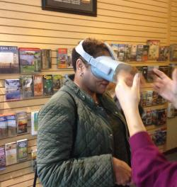 Virtual Reality at the Visitor Center