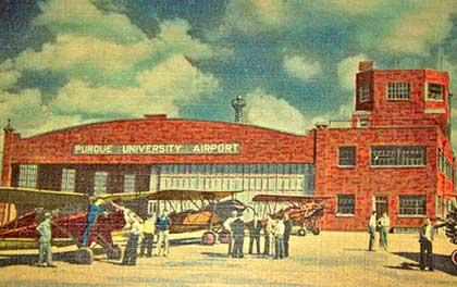 vintage Purdue Airport
