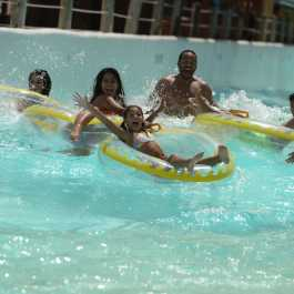 Family on Lazy River