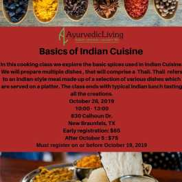 Basics of Indian Cuisine