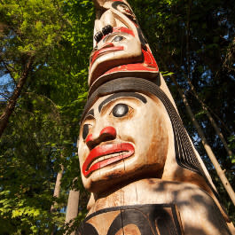 Stanley Park Totem Pole