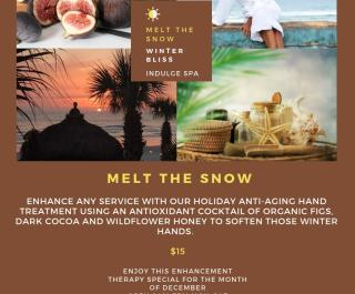 Melt The Snow Indulge Spa Winter Offer