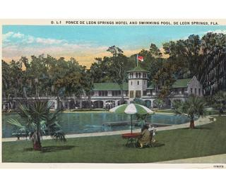 Echo Gallery DeLeon Springs Postcard