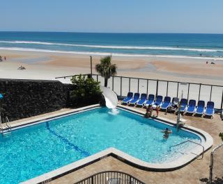 Outdoor Pool, Beach & Waterslide