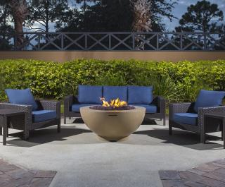 Fire Pit Seating Area