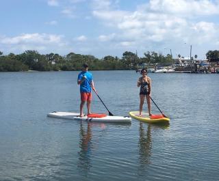 Paddleboard New Smyrna Beach