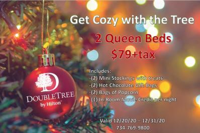Doubletree holiday deal