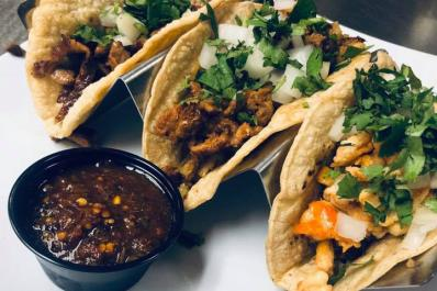 Peppers tacos