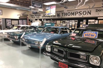 Automotive Heritage Museum cars