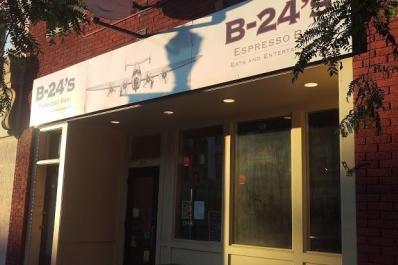 B-24s espresso bar