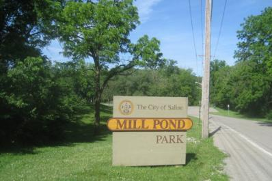 mill pond park sign