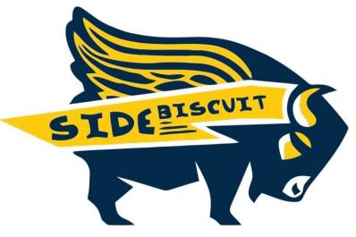 Side biscuit logo