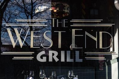 West End Grill sign