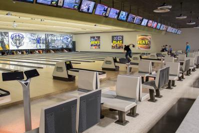 Bowling at Georgetown Entertainment