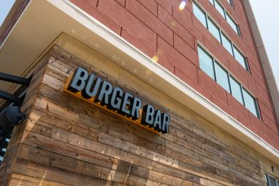 Burger Bar Exterior
