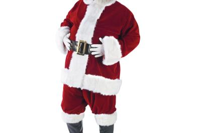 Professional Santa Suits & Wig and Beard Sets