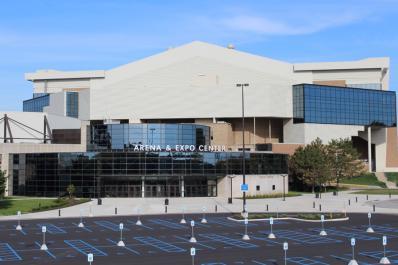 Arena & Expo Center Entrance Exterior