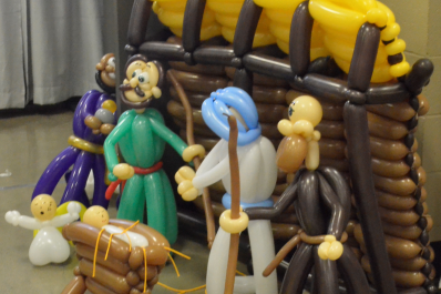 Balloon Nativity