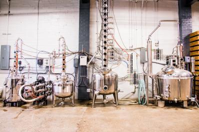 Distilling Room
