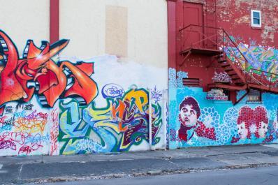 Wunderkammer Street Art Wall