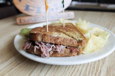 Grilled Corned Beef