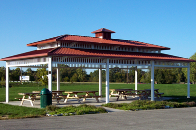 Riverside Gardens Park Pavilion