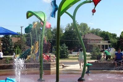 Riverside Gardens Park Splash Pad