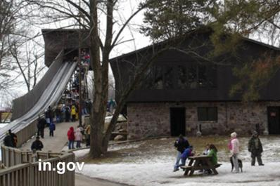 Toboggan Run at Pokagon State Park