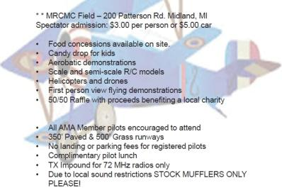 Midland RC Modelers Club Annual Radio Control Model Air Show