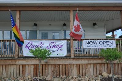 Quilt Shop Entrance