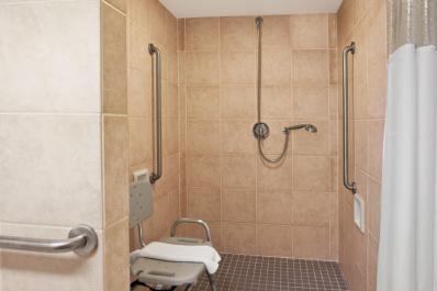 roll in Accessible Shower