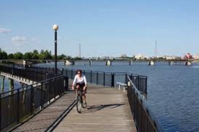 Bay City Rail Trail & Riverwalk