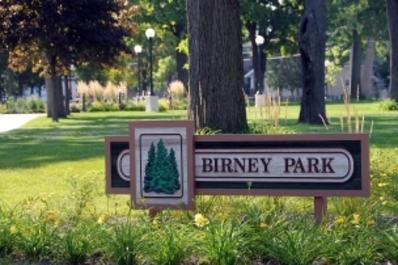 Birney Park sign