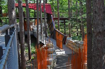 Canopy Walk Knot Entrance 2