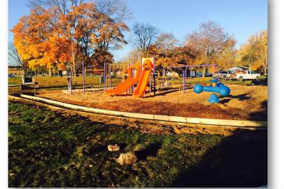 Central Park Playground and Paving from Marcie Post