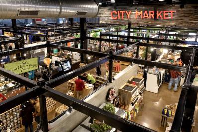 City Market Overhead